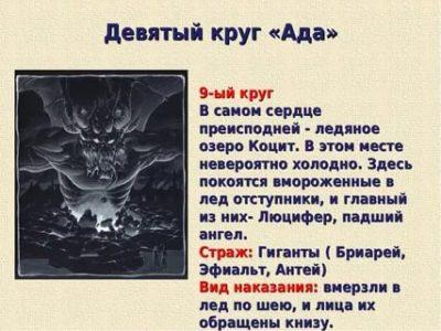 Кто в последнем кругу ада