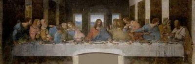Кто где сидит на картине Тайная вечеря