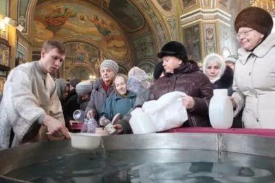 Когда надо набирать святую воду на Рождество