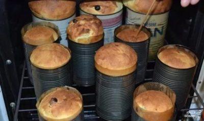 Сколько выпекать куличи в духовке