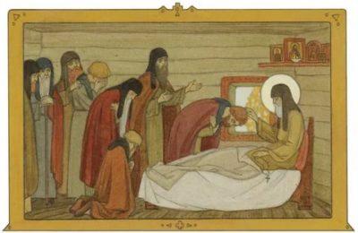 Как умер преподобный Сергий