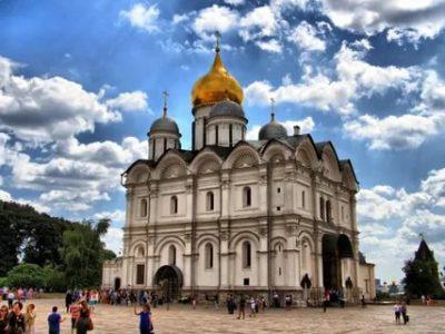 Кем был построен Архангельский собор