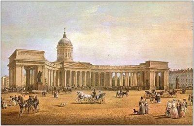В каком веке был построен Казанский собор
