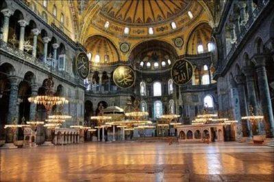 В каком году построили храм Святой Софии