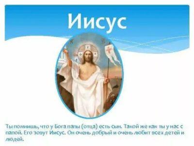 Как зовут отца Иисуса кто его отец