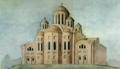 Где построена Десятинная церковь