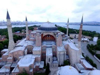 Когда и кто построил храм Святой Софии в Константинополе