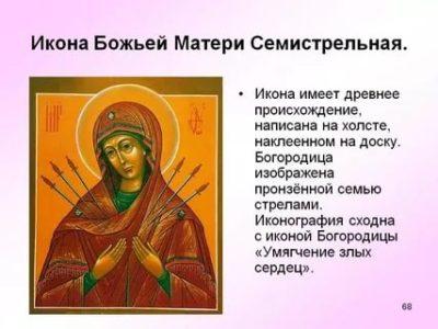 Что означает икона Пресвятой Богородицы
