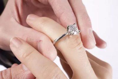 Куда надевают кольцо на помолвку