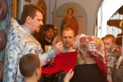 Сколько по времени идет причастие в церкви