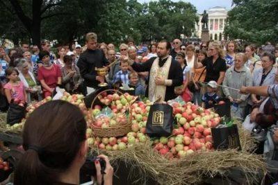 Какого числа будет Яблочный Спас