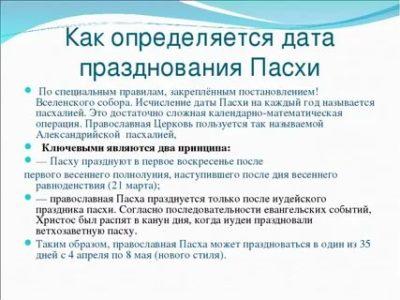 Как определяют дату православной Пасхи