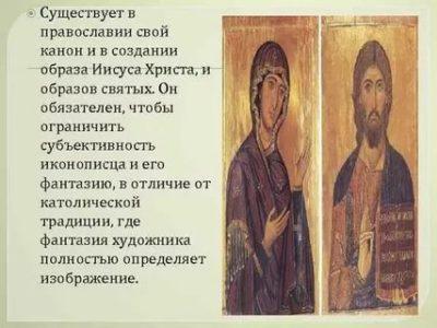 Что такое канон в христианстве