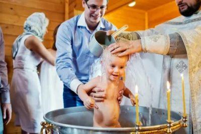 Кто крестит мальчика