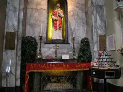 Где похоронен святой Валентин