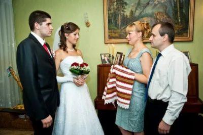 Когда родители невесты должны благословить молодых