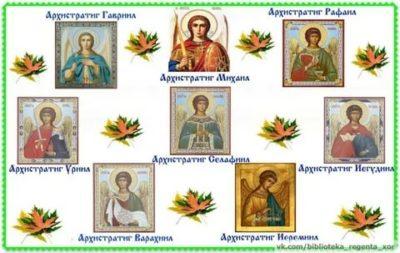 Сколько было Архангелов и их имена