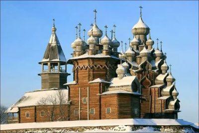Какая церковь была построена без единого гвоздя
