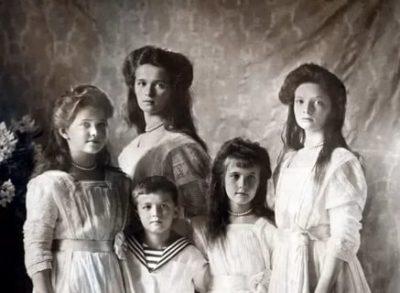 Как звали детей царя Николая 2