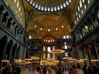 Где построен собор Святой Софии