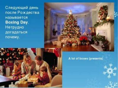 Как называется следующий день после Рождества