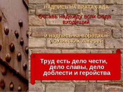 Что было написано на вратах ада