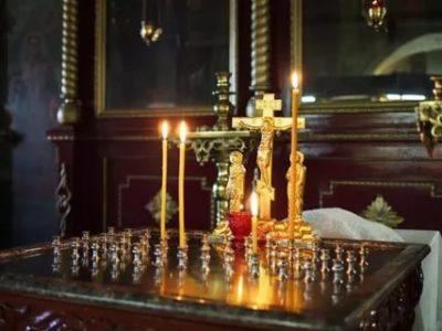 Можно ли в рождество поставить свечку за упокой
