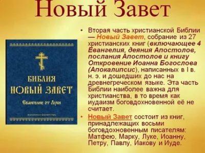 Сколько лет писали Новый Завет