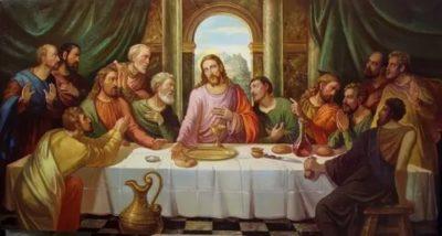 Кто написал картину Тайная вечеря