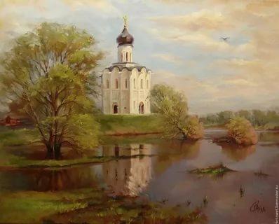В каком году была написана картина церковь Покрова на Нерли