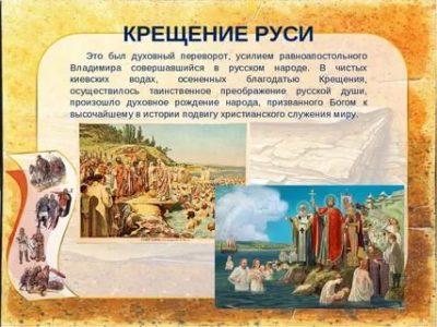Сколько лет Христианству на Руси