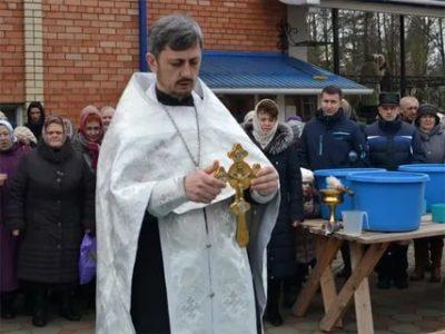 Когда освящают воду в крещенский сочельник