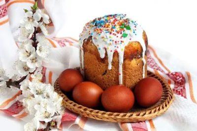 Почему на Пасху едят куличи и крашеные яйца