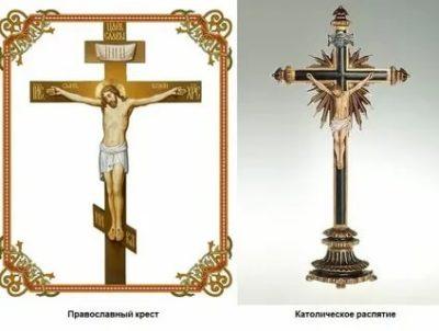 В чем разница между крестами