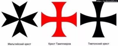 Что означает крест как у тамплиеров
