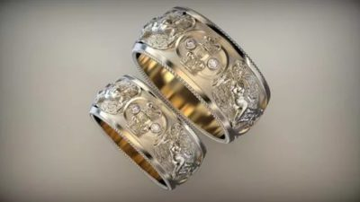 Как правильно носить венчальные кольца