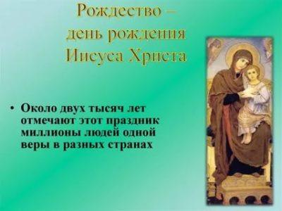 Когда родился Иисус Христос день