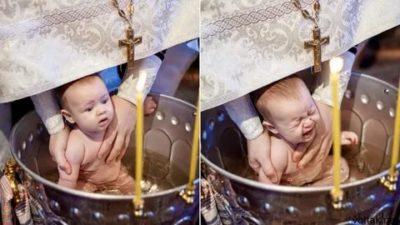 Когда лучше крестить ребенка