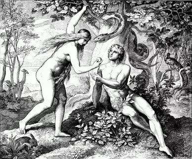 Что за грех совершили Адам и Ева