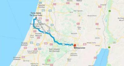 Как доехать из Иерусалима в Тель Авив