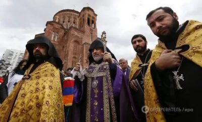 Какой вера у армян