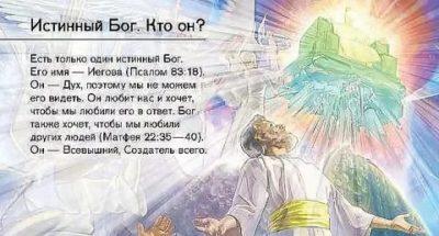 Как на самом деле зовут Бога