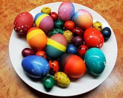 Можно ли красить яйца на Пасху в пятницу